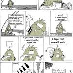 Comics one page